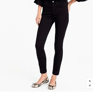 J. Crew 9'' High Rise Toothpick Jeans